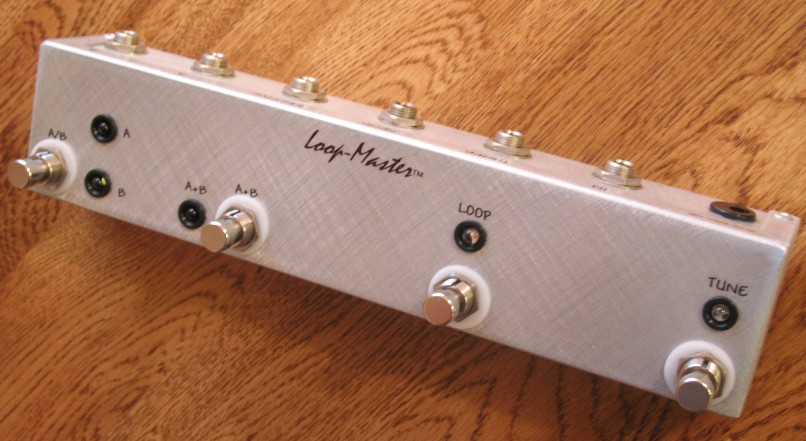 1 Looper w/Tuner Out & ABY Outputs